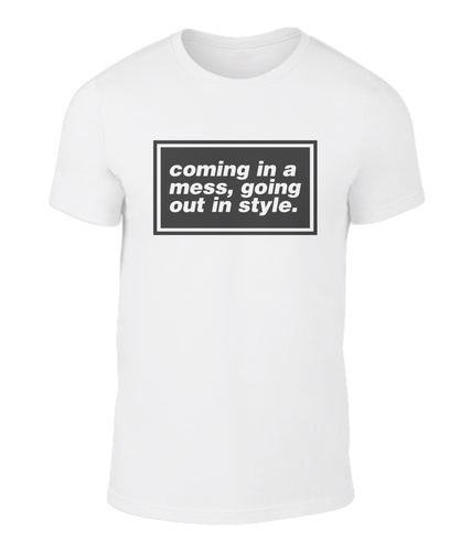 Coming in a mess - Oasis - D'you Know What I Mean? - Lyric T-Shirt