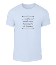 Load image into Gallery viewer, I Would Go Out Tonight - The Smiths - This Charming Man - Lyric T-Shirt