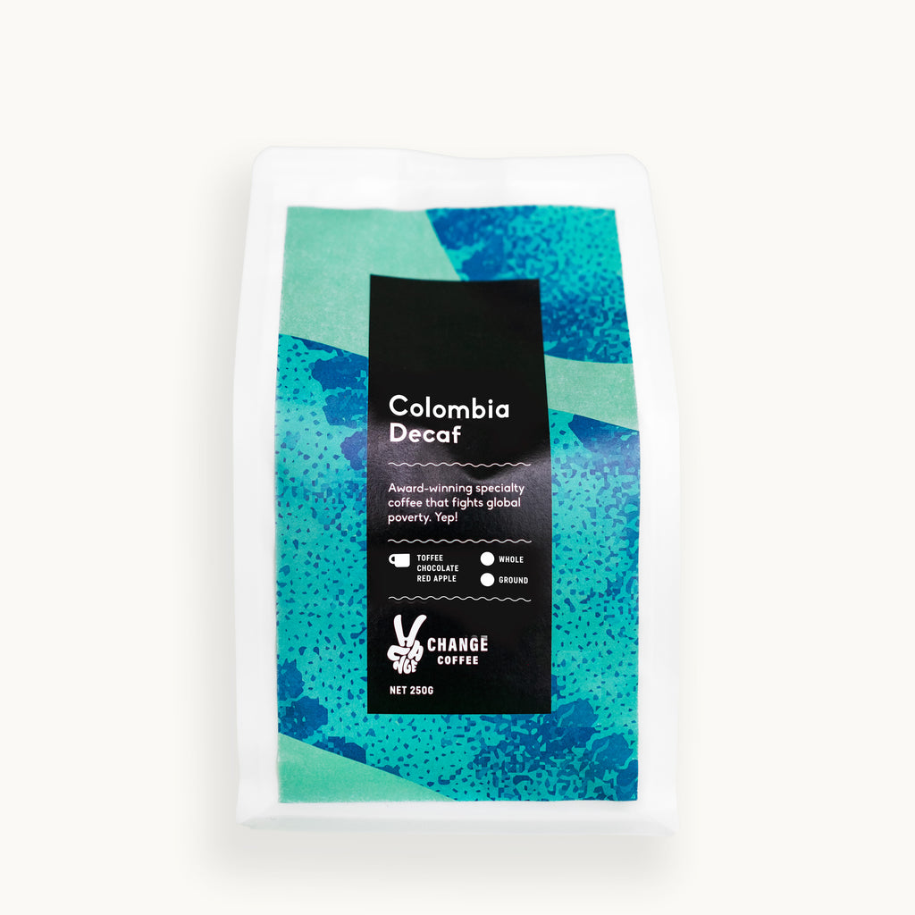 Colombia Decaf - Change Coffee