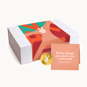 Gift Packaging + Handwritten Card - Change Coffee