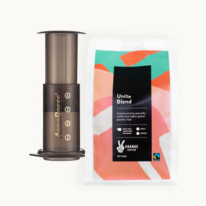 Coffee + AeroPress - Change Coffee