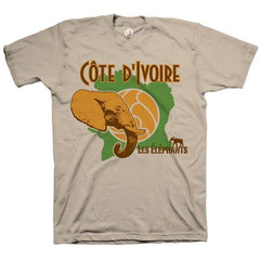 Ivory Coast Elephants Tee