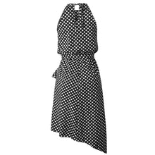 Fashion Polka Dot Laced Irregular Dress