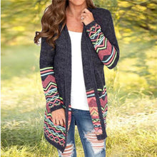 Shift Plus Size Tribal Cardigan