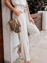 Grey Casual Solid Pants