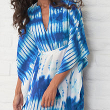 Boho Print Plus Size Casual Long Cover Ups