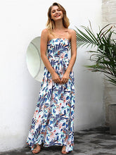 Floral Sexy Off Shoulders Long Beach Maxi Dresses
