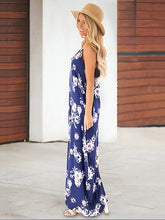 Dovechic New Floral Printed V-neck Maxi Dress