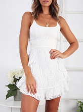 White halter top  mini dress