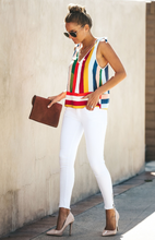 Color Striped Tank Tops