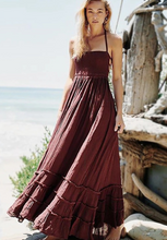 Boho Sexy Backless Vintage Elegant Dress