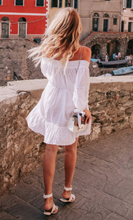 Cotton White Lace Vacation Boho Dress