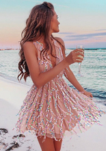 Heartbeat Shiny Boho Dress -3color