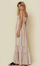 Colorful Striped Bohemian Dress