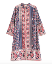 Bohemian Beach Retro Printed Midi Dress