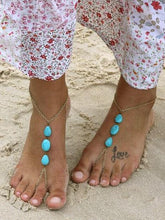 Boho Beach Footchain Accesorries