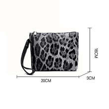 Fashion Women Leopard Two-piece Shoulder Bag