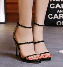 Open Toe Hollow Sexy High-Heeled Shoes