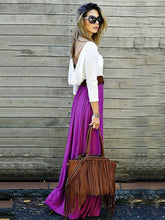 Dovechic Simple Backless Maxi Dress