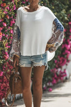 Crew Neck  Print Casual Sweaters