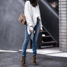 Fashion Open Back Sweater