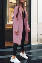 Slim Woolen Coat Winter Warm Outwear