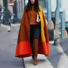 Fashion Swing Decorative Buckle Stitching Coat