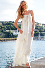 Cotton Bohemian Loose Beach Dress
