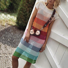 Stylish Casual Color Knit Dress