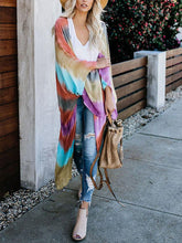 Maternity Colorful Beach Holiday Cardigan