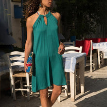 Stylish Casual Solid Color Dress