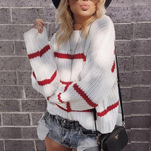Casual Striped Loose Sweater
