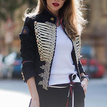 European And American Style Stand Collar Long Sleeve Jacket