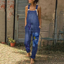 Casual Strap Printed Colour Jumpsuit