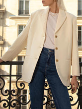 Casual Lapel Long Sleeve Blazer