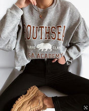 Casual Round Neck Long Sleeve Letter Sweatershirt