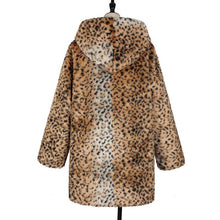 Fashion Leopard Print Long Sleeve Sweater