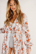 Chiffon Garden Floral Cover-up