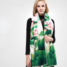 Luxury Scarves Women Wool Cashmere Shawls And Scarves