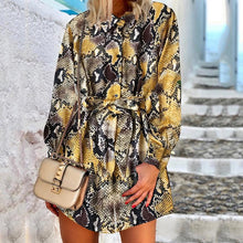 Fashion irregular loose crepe shirt skirt
