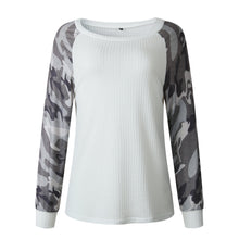 Fashion Printed Camouflage Thin Sweatshirts