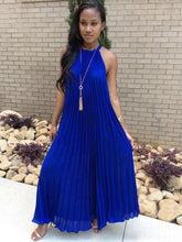 Dovechic Pleated Maxi Dresses