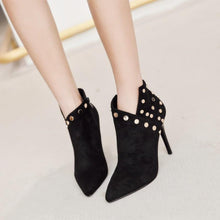 Fashion Black Bootsies Boots