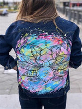 Casual Daily Print Jacket