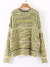 Pullover Loose Striped Chic Sweater