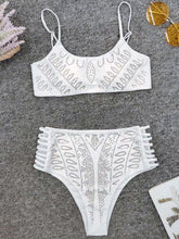 White Sexy Beach Bikini Suits