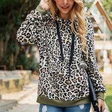 Leopard Pocket Plush Sweatershirt