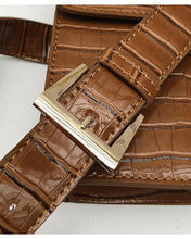Pu Leather  Alligator Waist Bags