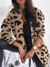 Fashion Long Sleeved Color Cardigan