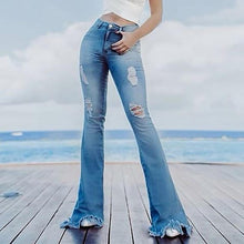 Modern Solid Color Slim Slimming Flared Pants